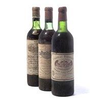 Lot 33 - 3 bottles Mixed Claret