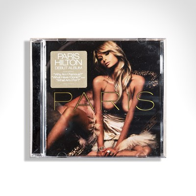 Lot 76 - Banksy (British 1974-), 'Paris Hilton CD', 2006