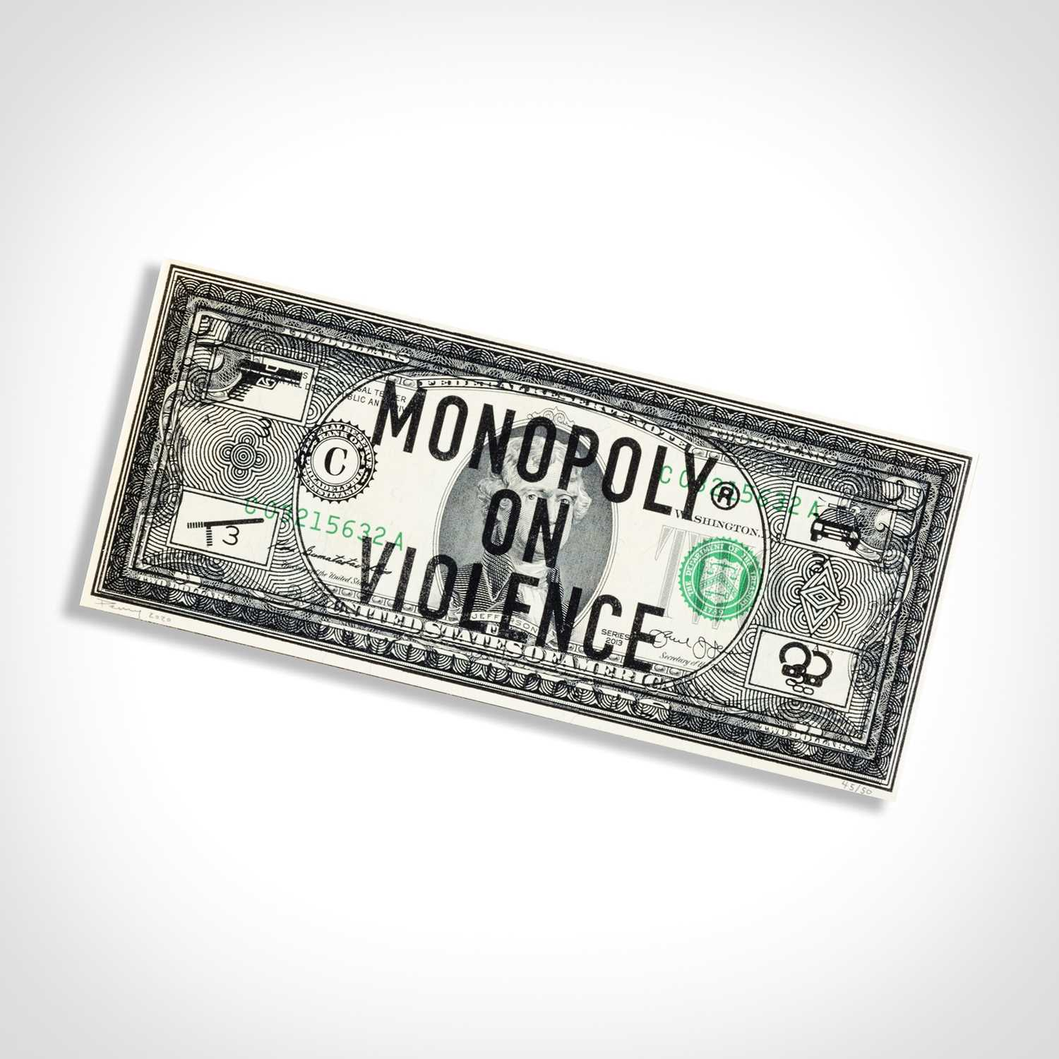 Lot 39 - Penny (British), 'Monopoly Is Violence', 2020