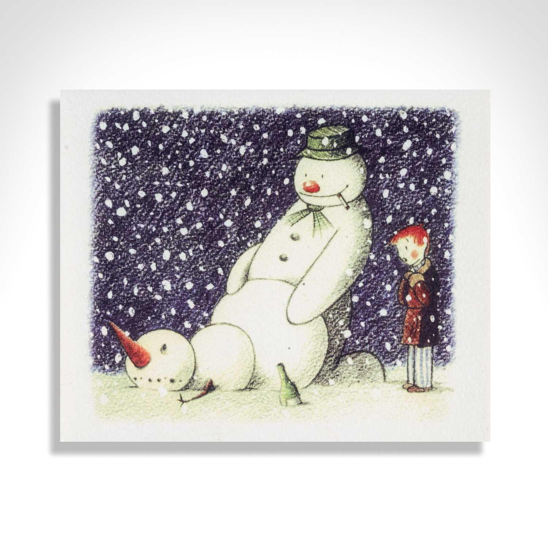 Lot 70 - Banksy (British 1974-), 'Rude Snowman', 2003