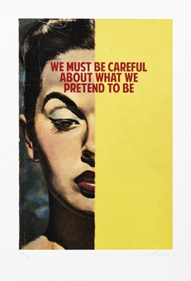 Lot 17 - Connor Brothers (British Duo), 'We Must Be Careful About What We Pretend To Be', 2015