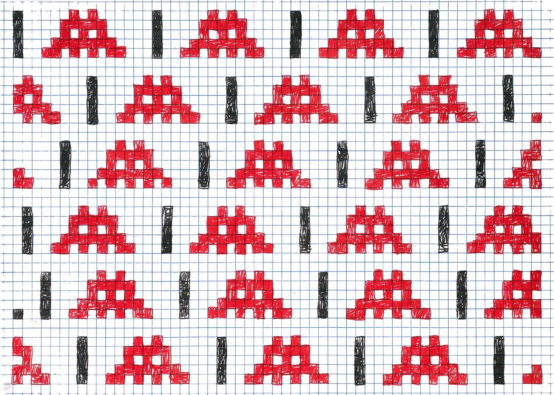 Lot 91 - Invader (French 1969-), 'Homeworks', 2006