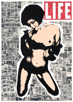 Lot 90 - Goldie (British 1965-), 'Life Ain't Black And White', 2007