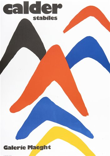 Lot 1 - Alexander Calder (1898-1976), 'Calder Stabiles'