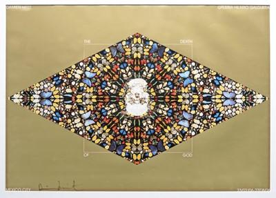 Lot 14 - Damien Hirst (British 1965-), 'Death of God', 2006