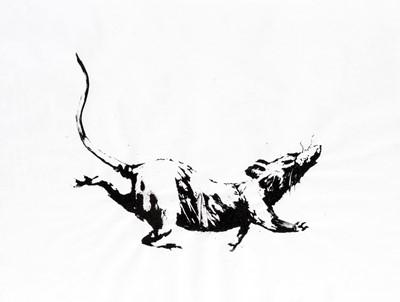 Lot 73 - Banksy (British 1974-), 'GDP Rat', 2019