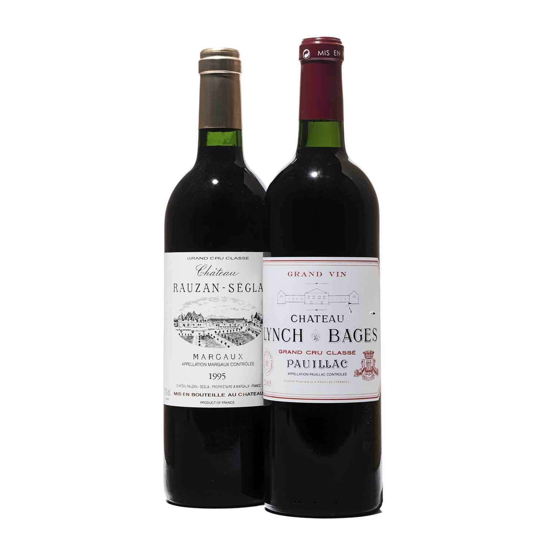 Lot 44 - 4 bottles Mixed  Bordeaux