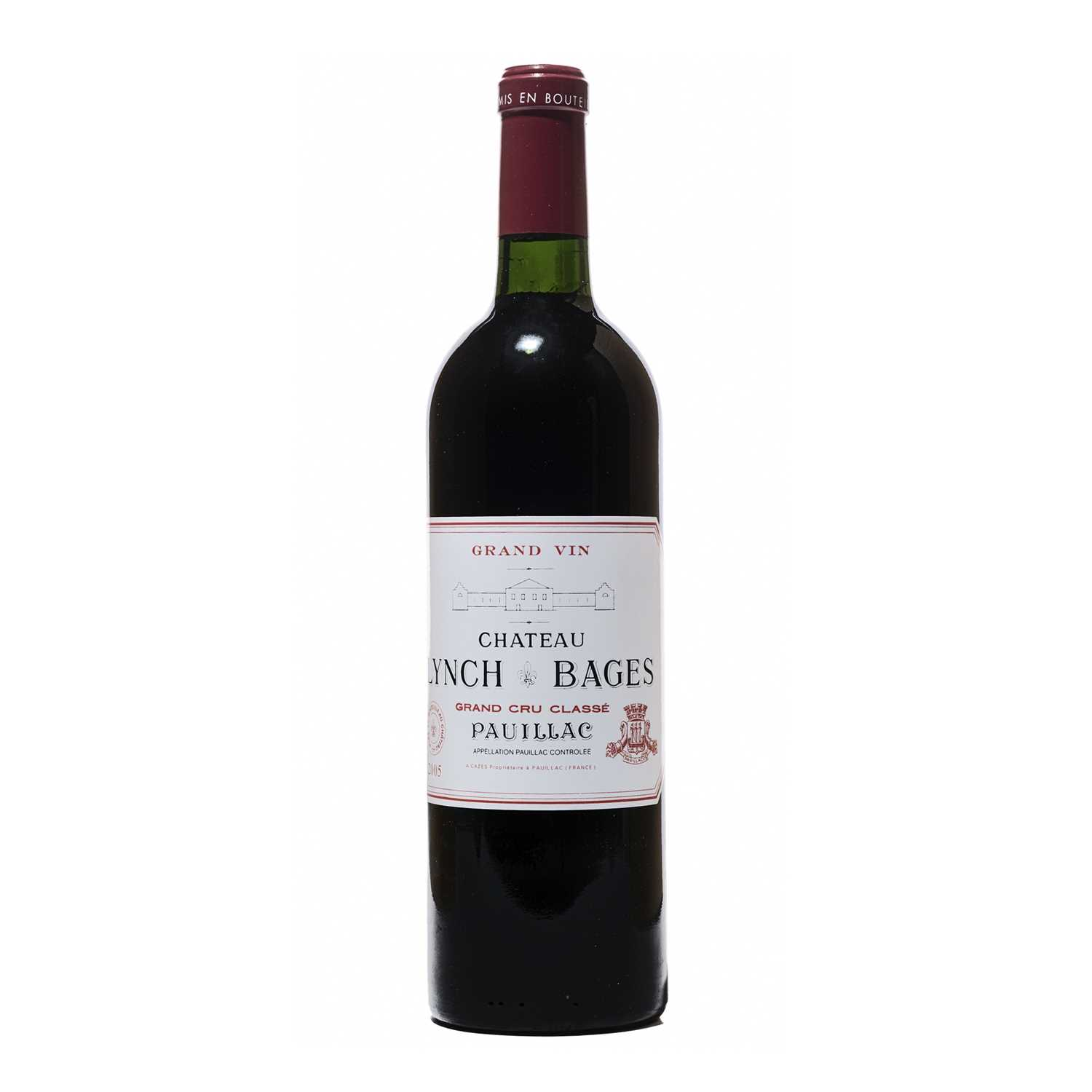 Lot 27 - 12 bottles 2005 Ch Lynch Bages