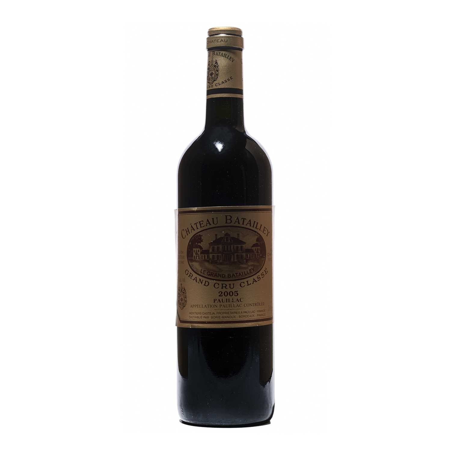 Lot 28 - 12 bottles 2005 Chateau Batailley