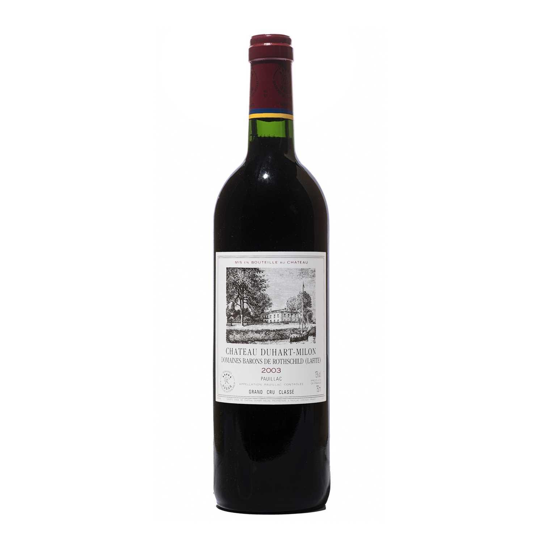 Lot 51 - 6 bottles 2003 Chateau Duhart-Milon