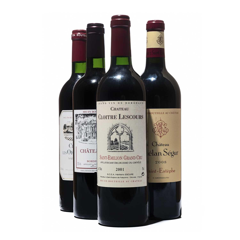 Lot 30 - 12 bottles Mixed Bordeaux