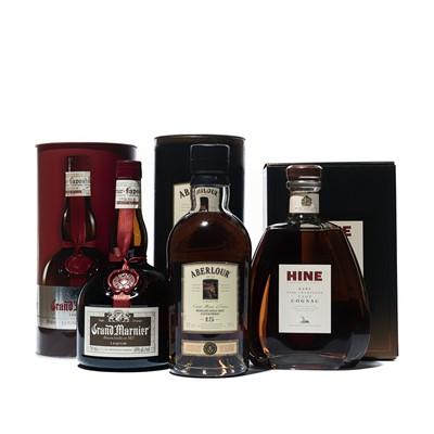 Lot 175 - 3 bottles Mixed Spirits and Liqueurs