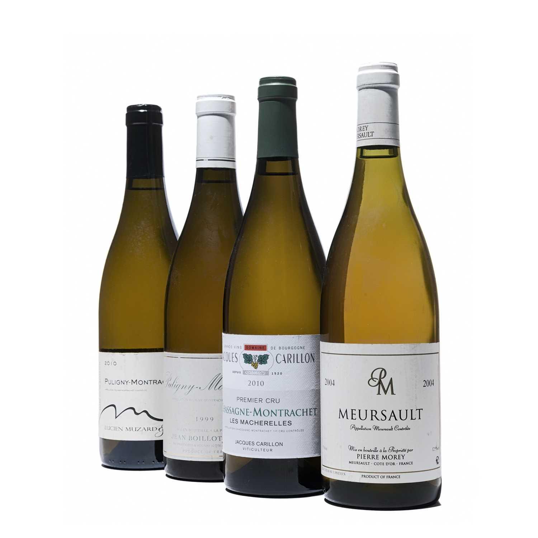 Lot 91 - 4 bottles Mixed White Burgundy