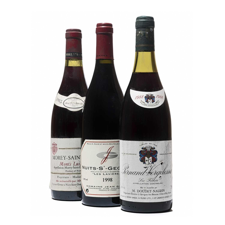 Lot 89 - 7 bottles Mixed Red Burgundy
