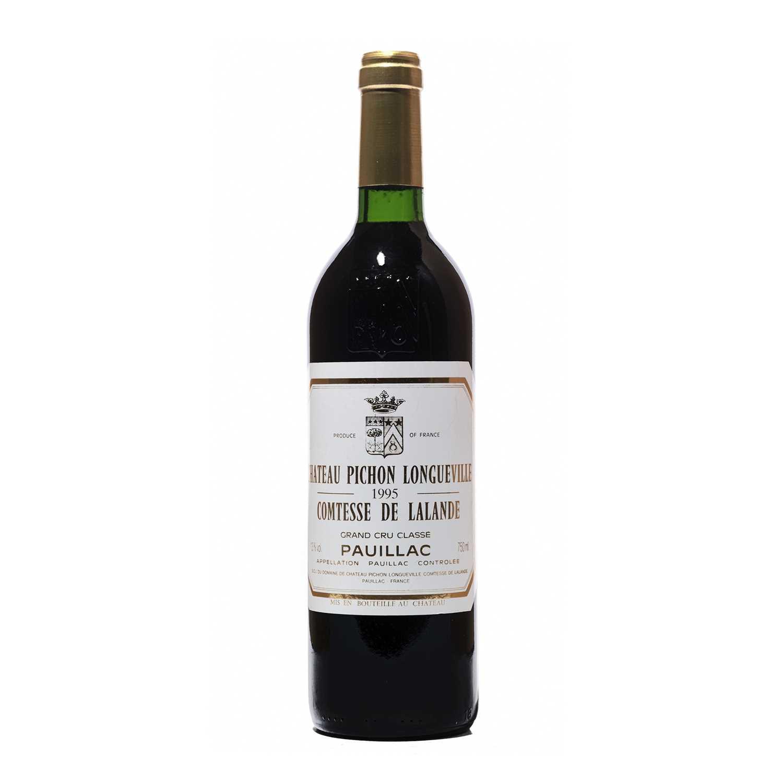 Lot 50 - 6 bottles 1995 Ch Pichon Lalande
