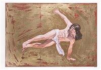 Lot 180 - Cosmo Sarson (British), 'Breakdancing Jesus – Flares', 2015