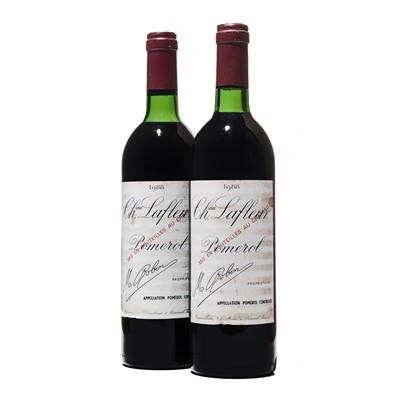 Lot 33 - 2 bottles 1988 Ch Lafleur