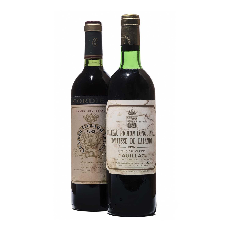 Lot 45 - 4 bottles Mixed Bordeaux