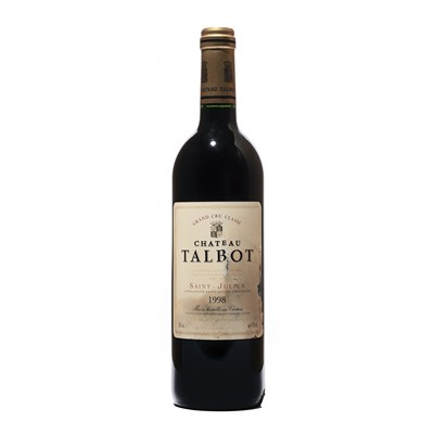 Lot 42 - 4 bottles 1998 Ch Talbot