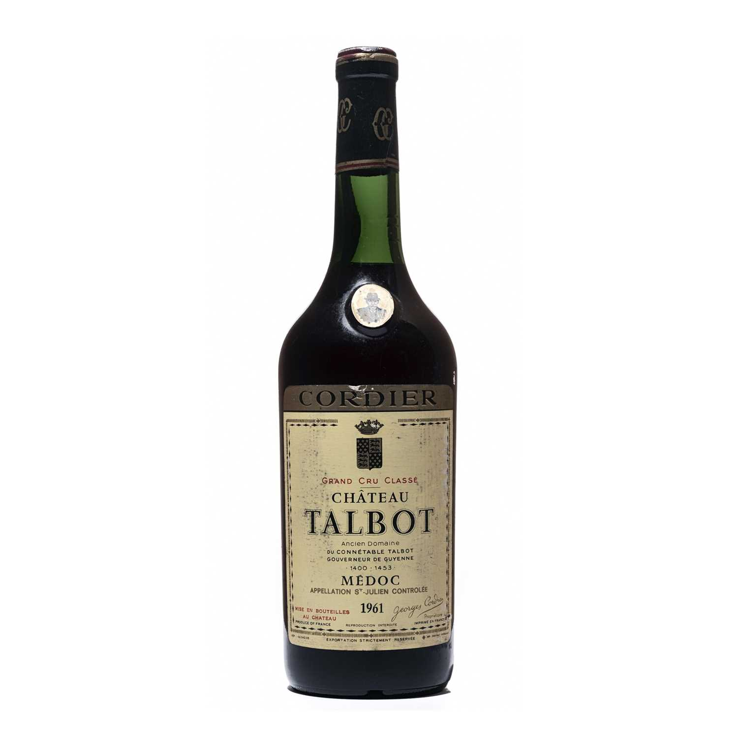 Lot 13 - 1 bottle 1961 Ch Talbot