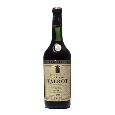 Lot 15 - 1 bottle 1961 Ch Talbot