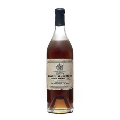 Lot 154 - 1 bottle 1904 Harvey's Grande Fine Champagne Cognac
