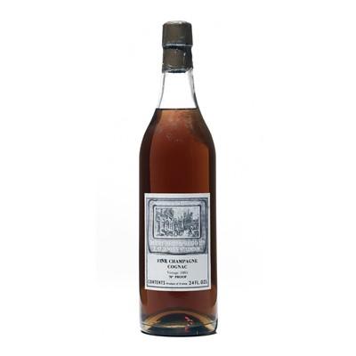 Lot 152 - 1 bottle 1885 Berry Bros & Rudd Grande Fine Champagne Cognac
