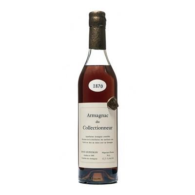 Lot 160 - 1 bottle 1870 Armagnac du Collectioneur