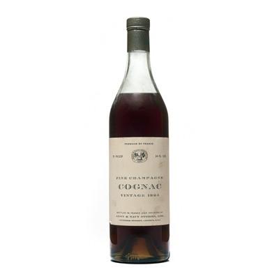 Lot 155 - 1 bottle 1924 Fine Champagne Cognac