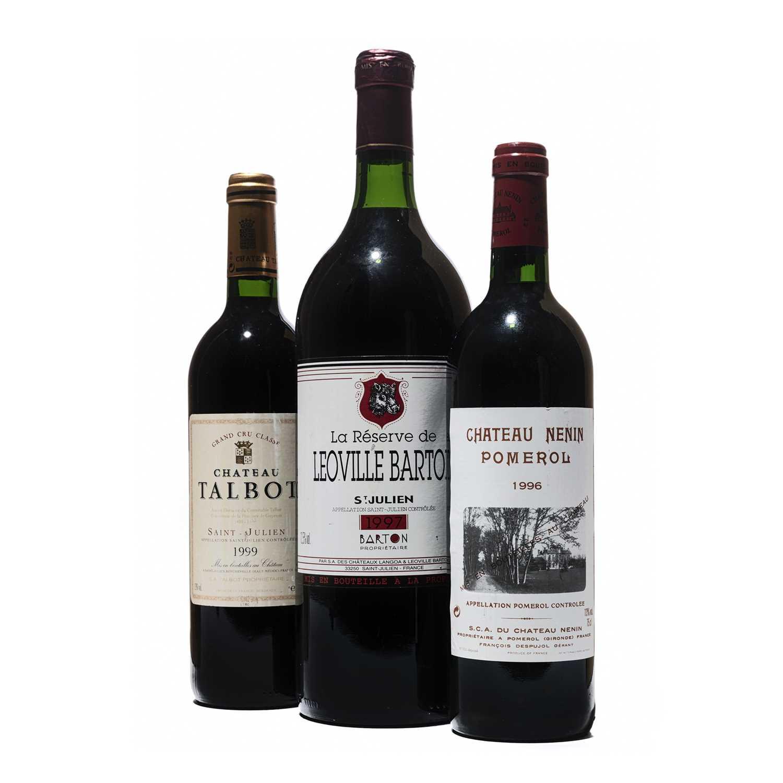 Lot 38 - 3 bottles Mixed Bordeaux