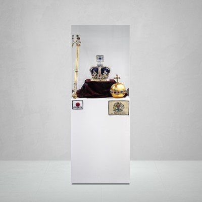 Lot 156 - Lucy Sparrow (British 1986-), 'The Crown Jewels', 2016