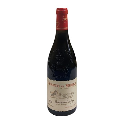 Lot 99 - 6 bottles 2010 Chateauneuf-du-Pape Chante Le Merle