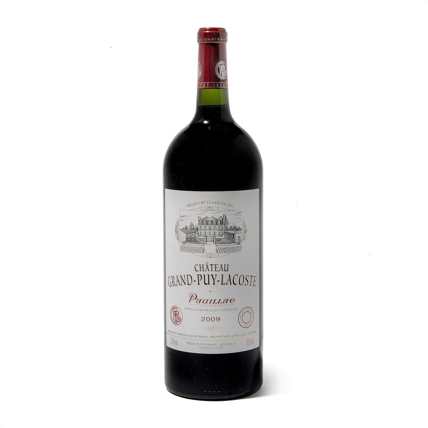 Lot 59 - 6 magnums 2009 Ch Grand Puy Lacoste