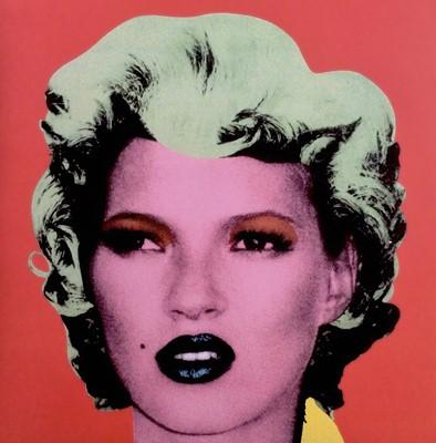 Lot 55 - Banksy (British 1974-), 'Kate Moss - Dirty Funker Vinyl (Red)', 2006