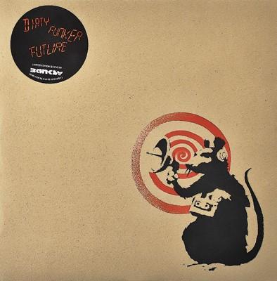 Lot 64 - Banksy (British 1974-), 'Radar Rat - Dirty Funker Vinyl (Brown)', 2008