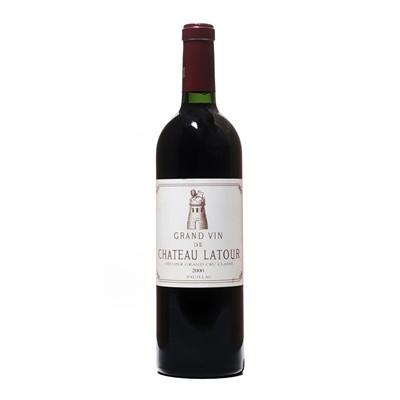 Lot 43 - 4 bottles 2000 Ch Latour