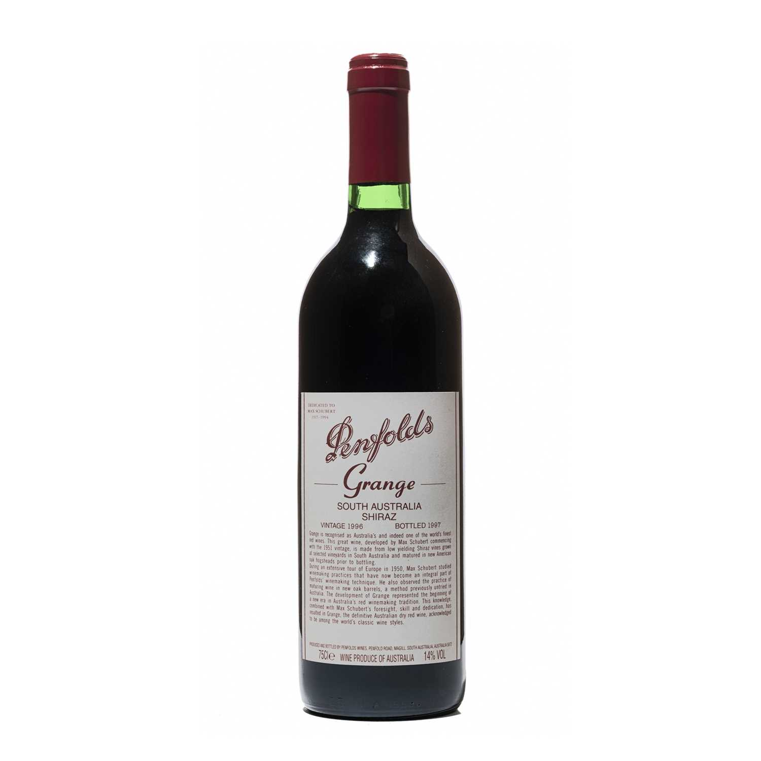 149 - 6 bottles 1996 Penfolds Grange