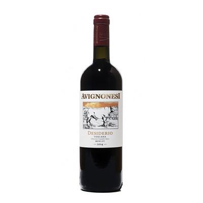 Lot 78 - 6 bottles 2014 Desiderio Merlot