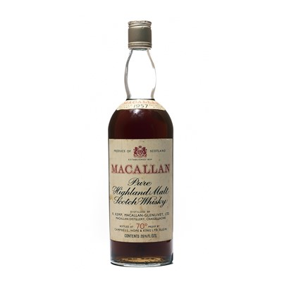 Lot 164 - 1 bottle 1957 Macallan