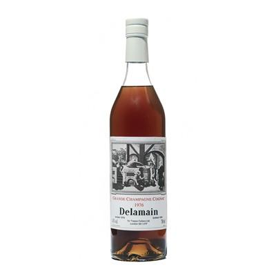 Lot 157 - 6 bottles 1976 Delamain Grand Champagne Cognac