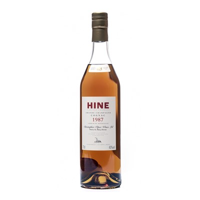 Lot 159 - 6 bottles 1987 Hine Grande Champagne Cognac