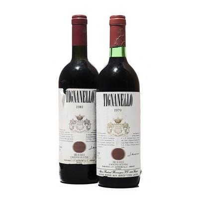 Lot 132 - 2 bottles Mixed Tignanello