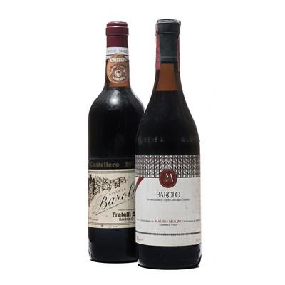 Lot 81 - 9 bottles Mixed Barolo