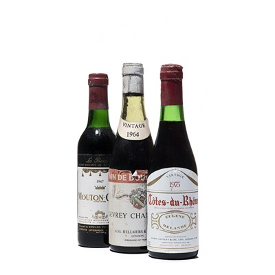 Lot 101 - 14 half-bottles Mixed French Wines