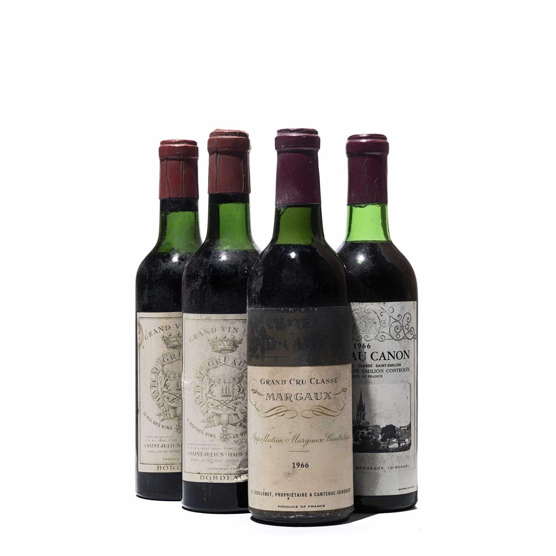 Lot 46 - 4 half-bottles Mixed Bordeaux