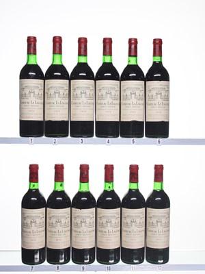 Lot 185 - 12 bottles 1976 Ch La Lagune