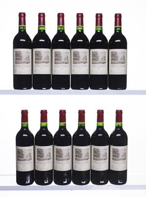Lot 191 - 12 bottles 2000 Ch Duhart-Milon