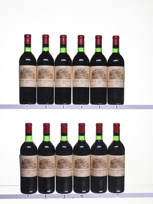 Lot 184 - 12 bottles 1970 Ch Magdelaine