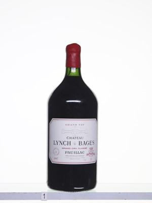 Lot 183 - 1 3litre bottle 1997 Ch Lynch Bages