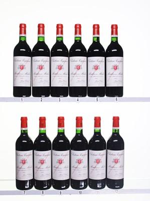 Lot 187 - 12 bottles 1995 Ch Poujeaux